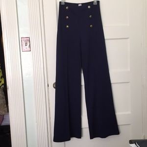 Pants - Retro high waist pinup trousers